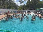 View larger image of Couples playing shuffleboard at SEMINOLE CAMPGROUND image #9