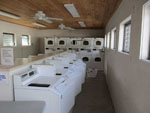 View larger image of Laundry room with washer and dryers at SEMINOLE CAMPGROUND image #10