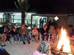 View larger image of Campers enjoying the campfire at SEMINOLE CAMPGROUND image #12