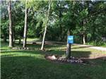 View larger image of Horseshoe pits next to a walking path at BIG CREEK RV PARK image #9