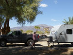 View larger image of 5th wheel Trailer at campsite at SHOSHONE RV PARK image #2