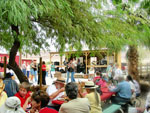 View larger image of Guests dancing to live band at SHOSHONE RV PARK image #4