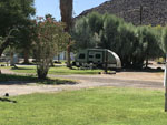 View larger image of Trailer camping at campsite at SHOSHONE RV PARK image #5