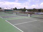 View larger image of Tennis courts at GULF WATERS RV RESORT image #5