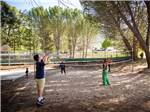 View larger image of People playing volleyball at RANCHO OSO RV  CAMPING RESORT image #3