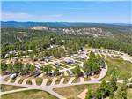 View larger image of An aerial view of the campsites at RUSHMORE SHADOWS RESORT image #1