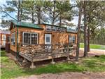 View larger image of One of the camping cabins for rent at RUSHMORE SHADOWS RESORT image #4