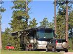 View larger image of RV at campsite at RUSHMORE SHADOWS RESORT image #7