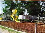 View larger image of Playground with swing set at MONROE BAY CAMPGROUND image #4