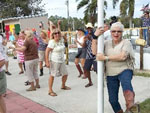 View larger image of Campers dancing at SUNSEEKERS RV PARK image #7