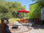View larger image of Barbeque fire pit and picnic table  at RIO VERDE RV PARK image #4