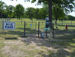 View larger image of Dog exercise area at I 35 RV PARK  RESORT image #8