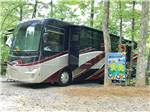 View larger image of Big rig parked in a gravel site at YONAH MOUNTAIN CAMPGROUND image #7