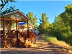 View larger image of Bathroom exterior at VERDE RIVER RV RESORT  COTTAGES image #8