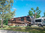 View larger image of RV with slide outs at HAWKINS CREEK CAMPGROUND image #2