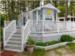 View larger image of Cabin with deck at ECHO FARMS RV RESORT image #5