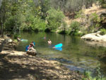 View larger image of People swimming in river at SEQUOIA RV RANCH image #2