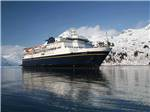 View larger image of Cruise ship in the ocean at ALASKA MARINE HIGHWAY SYSTEM image #1