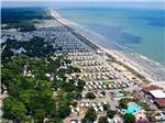 View larger image of Aerial view over campground at MYRTLE BEACH CAMPGROUNDS image #1