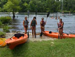 View larger image of Girls kayaking at CYPRESS CAMPING RESORT image #9