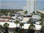 View larger image of RVs and trailers at campground at CORAL SANDS OCEANFRONT RV RESORT image #12