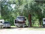 View larger image of Trailers at campsite at CLOVIS RV PARK image #3