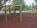 View larger image of Playground at FALLS CREEK CABINS  CAMPGROUND image #6