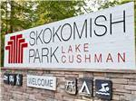 Skokomish Park At Lake Cushman