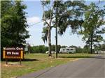 View larger image of Sign leading into campground at VALDOSTA OAKS RV PARK image #1