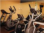 View larger image of Exercise room at VINES RV RESORT image #5