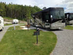 View larger image of RVs parked at campground at KOA BAS-ST-LAURENT CAMPGROUND image #2