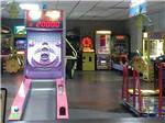 View larger image of Games in arcade at NATALBANY CREEK CAMPGROUND  RV PARK image #9