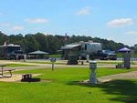 View larger image of RVs and trailers at campgrounds at NATALBANY CREEK CAMPGROUND  RV PARK image #12