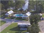 View larger image of Sign at entrance to the park at CAMP LAKE JASPER RV RESORT image #2