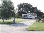 View larger image of A dog in the pet walk area at VICTORIA COLETO LAKE RV RESORT image #6