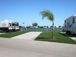 View larger image of Trailers camping along the water at TEXAS LAKESIDE RV RESORT image #4