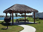 View larger image of Shaded Gazebo at TEXAS LAKESIDE RV RESORT image #5