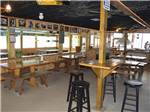 View larger image of Inside view of the restaurant at BAREFOOT BAY MARINA AND RESORT image #4