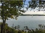 View larger image of Sail boat on the water at SOUTH DAKOTA DEPT OF GAME FISH  PARKS image #9