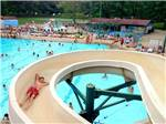 View larger image of Swimming pool with outdoor seating at CERALAND PARK  CAMPGROUND image #2