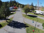 View larger image of Paved road and pads with trailers at TRUCKEE RIVER RV PARK image #7
