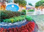 View larger image of Sign at the park entrance at SEA AIR VILLAGE MANUFACTURED HOME  RV RESORT image #1