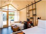 View larger image of Interior view of trailer kitchen at SHOOTING STAR RV RESORT image #10