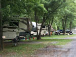 View larger image of 5th wheels at sites at JONESTOWN AOK CAMPGROUND image #2