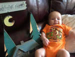 View larger image of Baby on couch at JONESTOWN AOK CAMPGROUND image #7