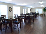 View larger image of Dining area at lodge at MONKEY ISLAND RV RESORT image #8