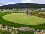 View larger image of Putting green at ANGEL FIRE RV RESORT image #10