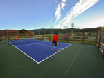 View larger image of Mini tennis court at ANGEL FIRE RV RESORT image #11