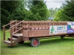 View larger image of Hayride wagon at CRAIGLEITH RV RESORT image #4