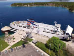 View larger image of Cruise ship docked at OWEN SOUND TRANSPORTATION COMPANY image #2